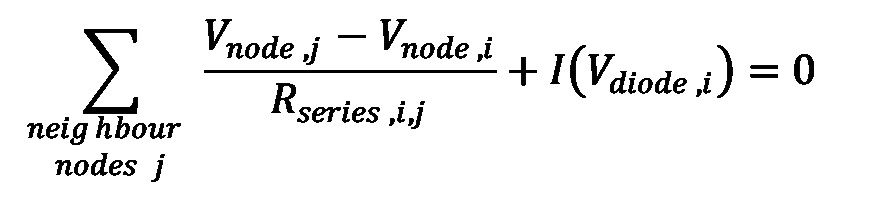 Equation: Kirchhoff's Node Law